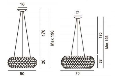 foscarini-caboche-media-sospensione-50cm-maatvoering-tabbers-nijmegen