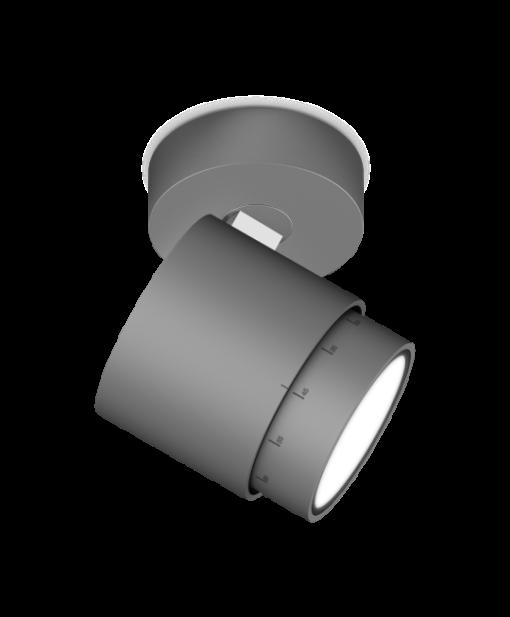 Tabbers Lichtdesign Nijmegen Occhio Lui Pico Up mat aluminium