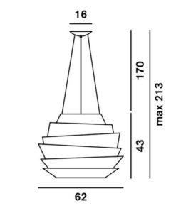 foscarini-le-soleil-hanglamp-led
